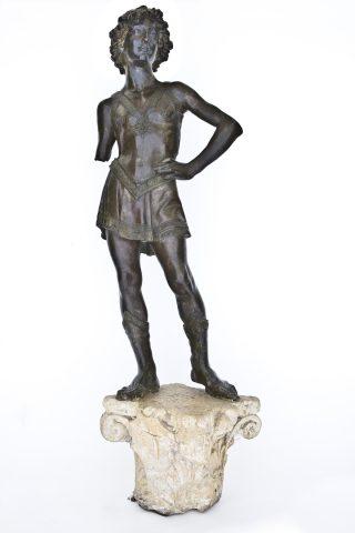 statua: XIX secolo; capitello: Toscana, XV secolo